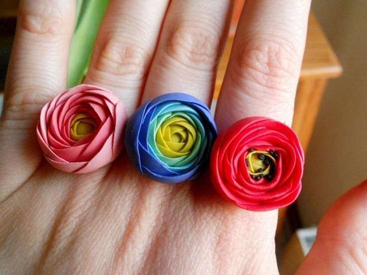Ranunculus type rings