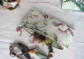 Simple cosmetics purse tuto