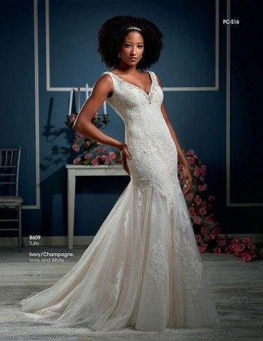 Bonny Essence Wedding Dresses - Style 8609