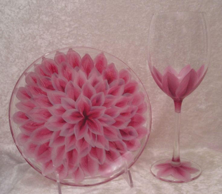 Glassware | Unique Gifts |Hand Painted Glassware