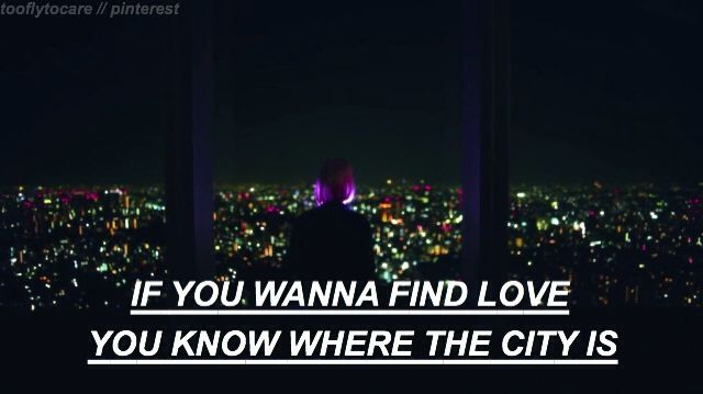 the city // the 1975