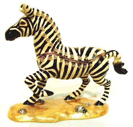 Zebra African Theme Treasurines TR151