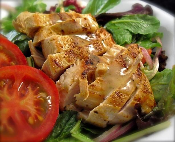 Cajun Chicken Salad for Two from Food.com: It speaks for itself.