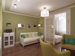 Идеи дизайна гостиной и спальни в одной комнате плюс подборка видео- iHouzz.ru