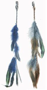 2 X Real Natural Feather Hair Extensions Grizzly Hair Extension Clip in on Beauty Salon Supply Wholesale Lot New by opt. $5.99. Material: Real Natural Feather. Length: about 14 (35cm). User Friendly: Make your own hair style.. Package Includes: 2 pieces dyed Natural Feathers hair extensions.. 2 X Real Natural Dyed Grizzly Feather Hair Extensions Clip In On Beauty Salon Supply Wholesale Lot New. Real Natural Feather Hair Extensions Clip In On . Make your own hair style...
