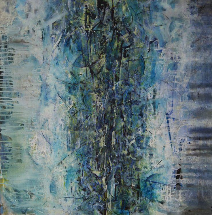 Maciej Przybylski oil on canvas 100/100 cm