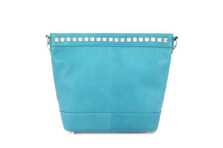 Genuine Baggage - Pink Corporation top leather handbag in style Elise Aqua, $99.95 (http://www.genuinebaggage.com.au/pink-corporation-top-leather-handbag-in-style-elise-aqua/)