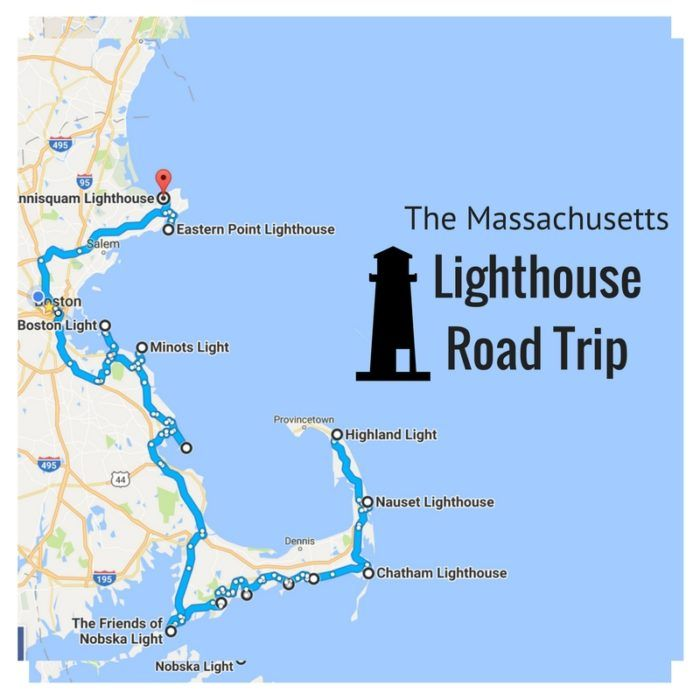 The Lighthouse Road Trip On The Massachusetts Coast That's Dreamily Beautiful