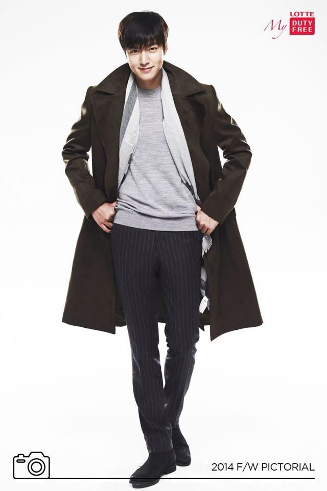 Lee Min Ho with Lotte Duty Free