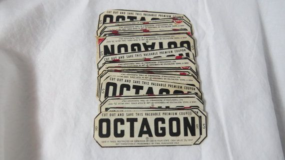 Antique Lot of Octagon Soap and Borax Coupon by fromanotherday