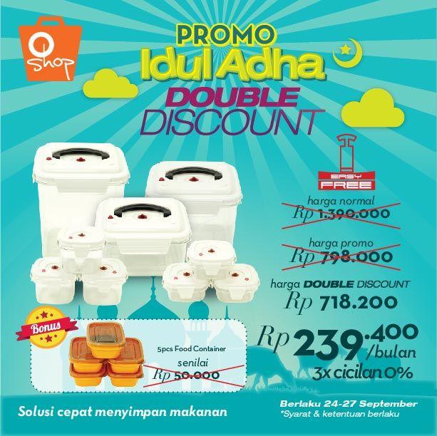 OShop Double Discount Idul Adha