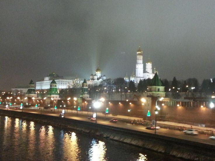 #Moskow #sightseeing #night