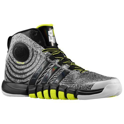 adidas D Howard 4 - Men's - Basketball - Shoes - White/Black/Electricity
