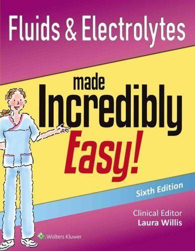 22 best test bank for book images on pinterest textbook manual fluids electrolytes made incredibly easy 6th edition ebookpdf fandeluxe Images