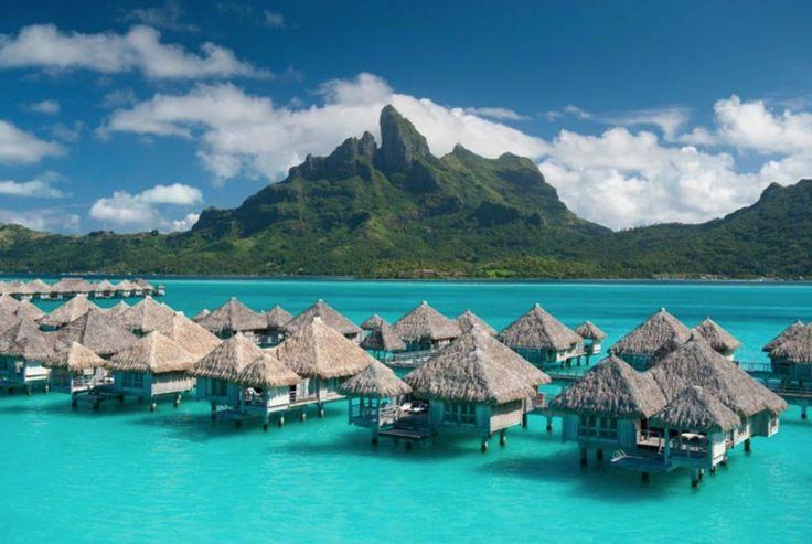 Bora Bora, French Polynesia (Credit: St. Regis Bora Bora)