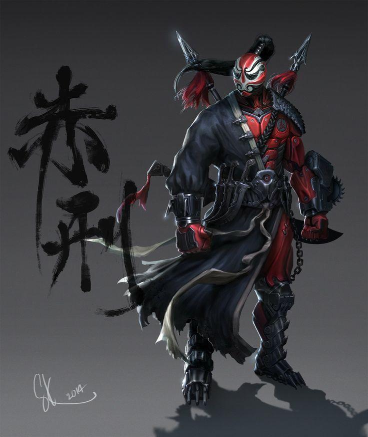 Punisher red by SKtneh