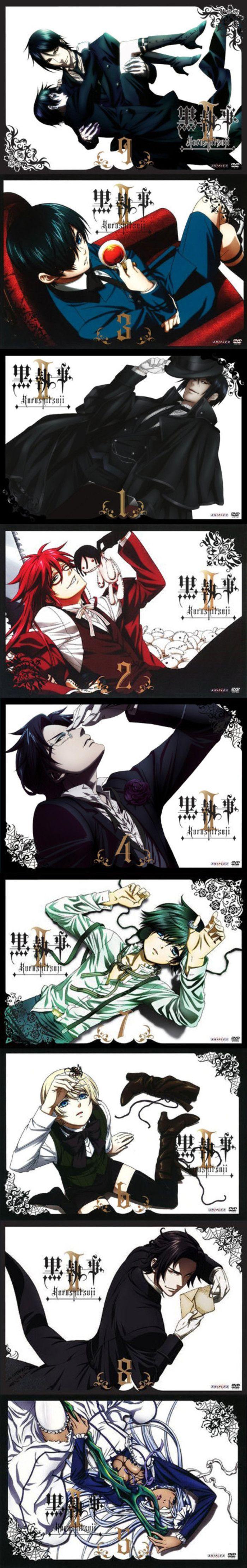 Black Butler / Kuroshitsuji season 2