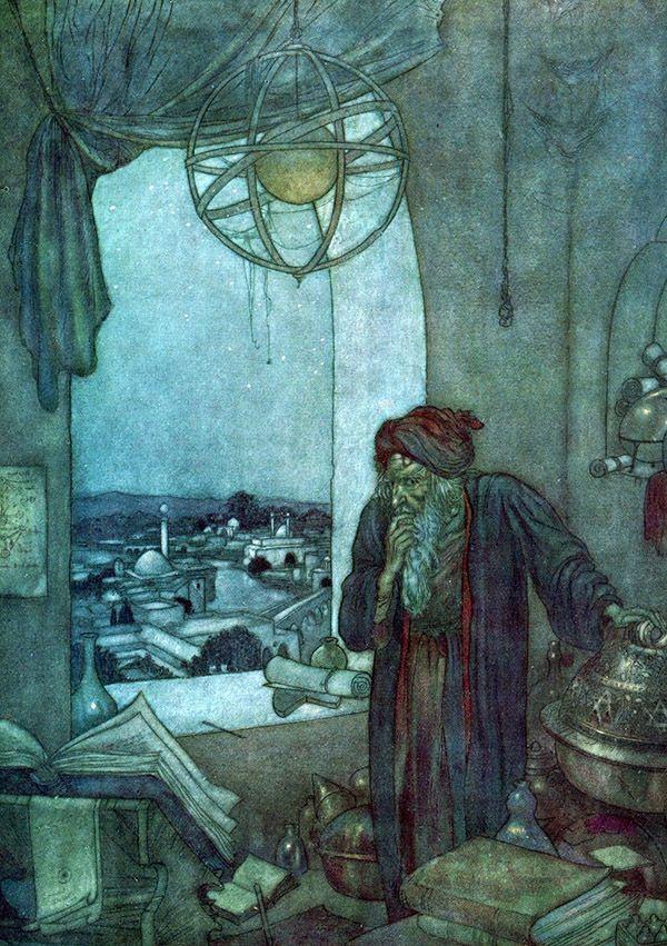 edmund-dulac-rubaiyat_dark-tower.jpg (600×851)