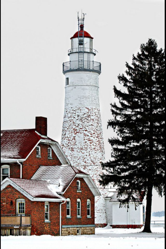 Port Huron Lighthouse, Michigan. I want to go see this place one day. Please check out my website thanks. www.photopix.co.nz