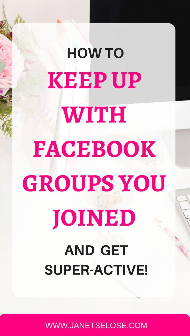 Are you distracted by so many FB groups you joined but you are never active? Follow this step-by-step tutorial on how to discuss, plan and collaborate on all your fb groups without being distracted. Keep up with the FB groups you joined! | Blogging Tips | Social Media Strategy | Blogging for Beginners
