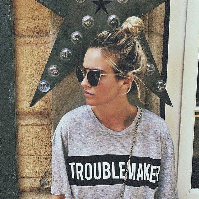 troublemaker tee by zoe karssen blue life http://planetb.lu/PBinstashop#sthash.wOqjMtkq.dpuf