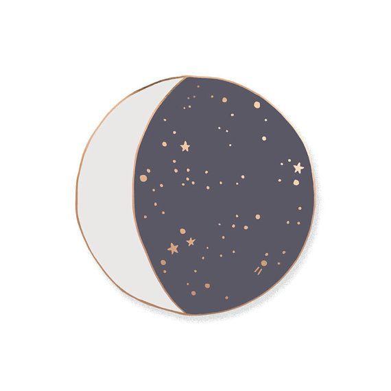 Moon Phase Enamel Lapel Pin Badge // Limited Edition by OHNORachio $10/48
