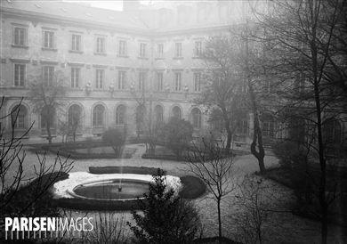L'Ecole Normale Supérieure, rue d'Ulm. Paris (Vème arr.), 23 janvier 1946.