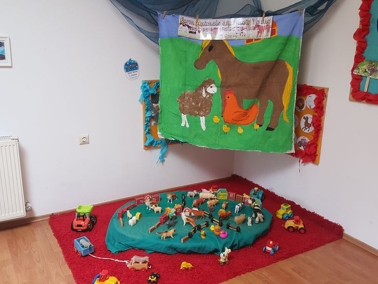 Farm Area for Early Years @ Acorns Nursery Bucharest