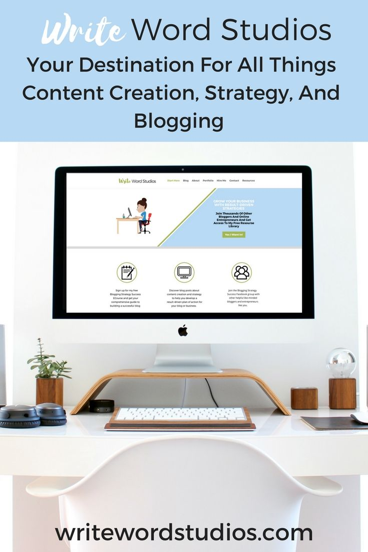 The destination for bloggers and online entrepreneurs who want straight forward info on content creation, blogging tips, and strategies