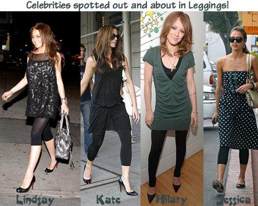 Short dress with leggings images yahoo