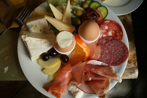 Another German breakfast. oh yeah.
