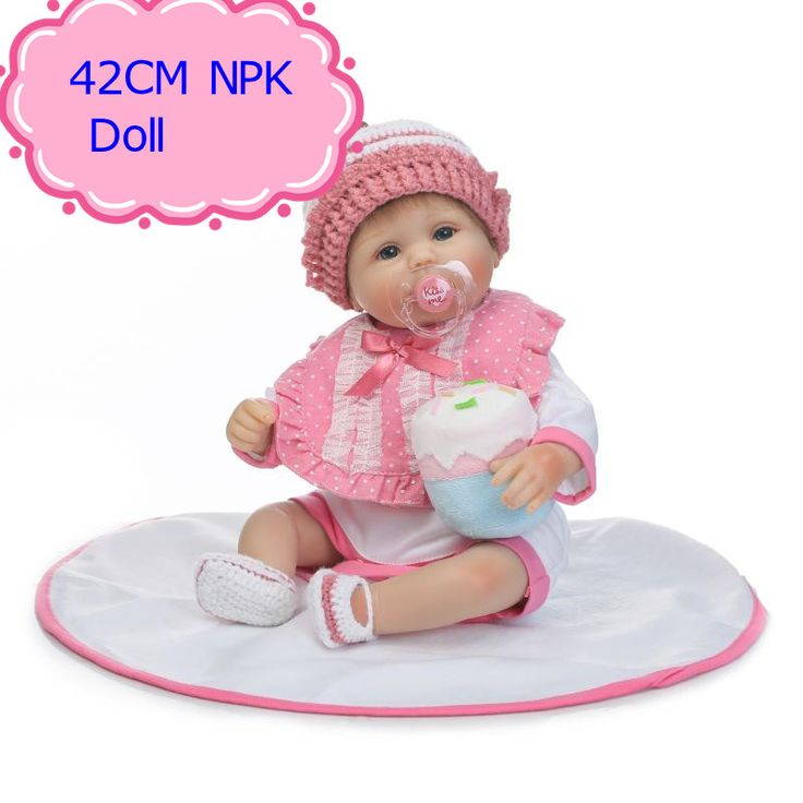 NPK Adora 42cm About 17inch Reborn Baby Doll Real Silicone Doll Kids Toys Girls Bebes De Silicona Smart Choice Birthday Gifts  #Affiliate