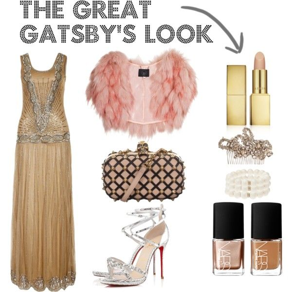 """""""The Great Gatsby"""" look for a Halloween costume. Need to diy this whole outfit."""