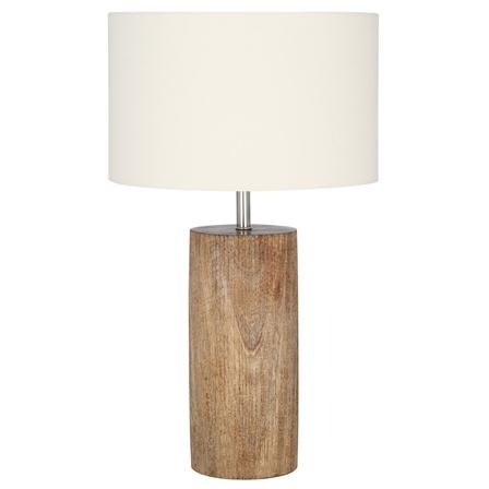 Pacific Lighting Round Wooden Table Lamp Other Lounge