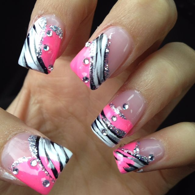 My Cool Nails Nail Ideas Pinterest Nail Nail Manicure And Makeup
