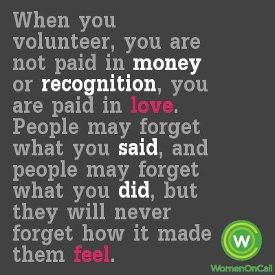 volunteer quotes inspirational - Google Search | Ovations ...