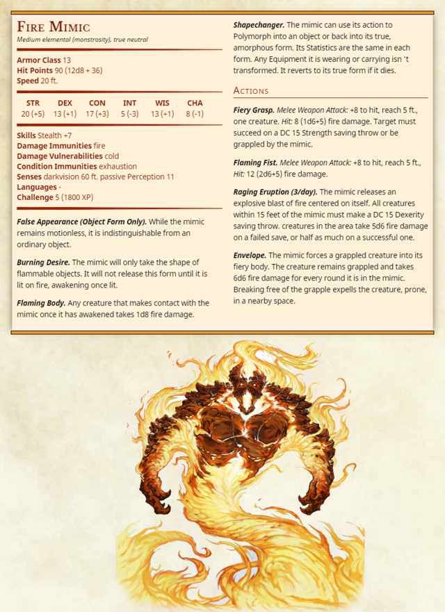Every DnD homebrew monster I could find in 2019 | Dnd monsters | Dnd