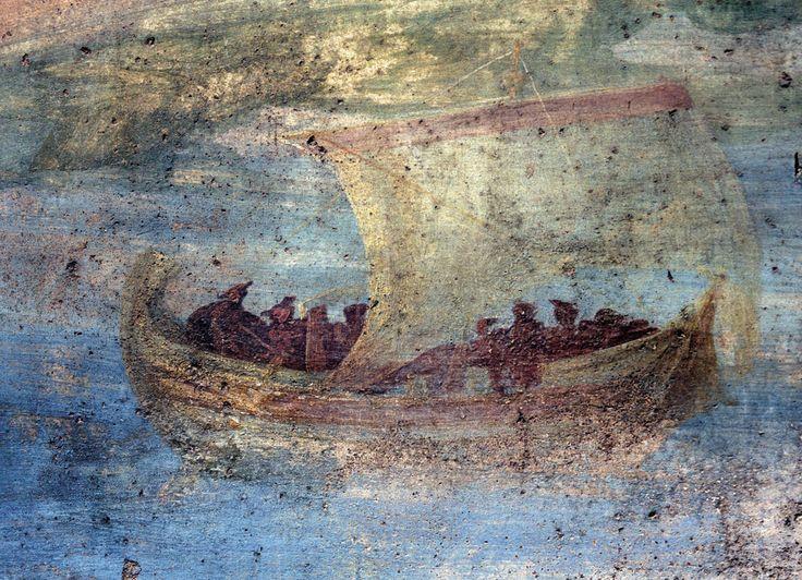 корабль с богатством фото фрески девушка скрывает, что