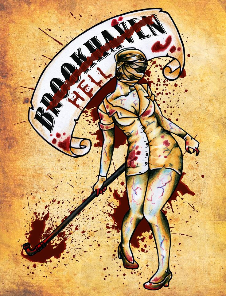 Brookhaven Nurse Inspired by Sailor Jerry and Silent Hill