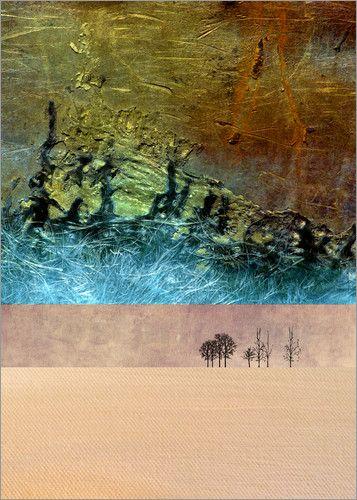 Pia Schneider atelier COLOUR-VISION - Wüsten Traum 5. #kunst #art #kunstdrucke #artprint #poster #malerei #painting #posterlounge #fotografie  #photography #grafikdesign #graphicdesign #illustration #collage #ateliercolourvision #piaschneider #wüste #desert #abstrakt #surreal #landschaft #landscape #phantasie #bäume #trees