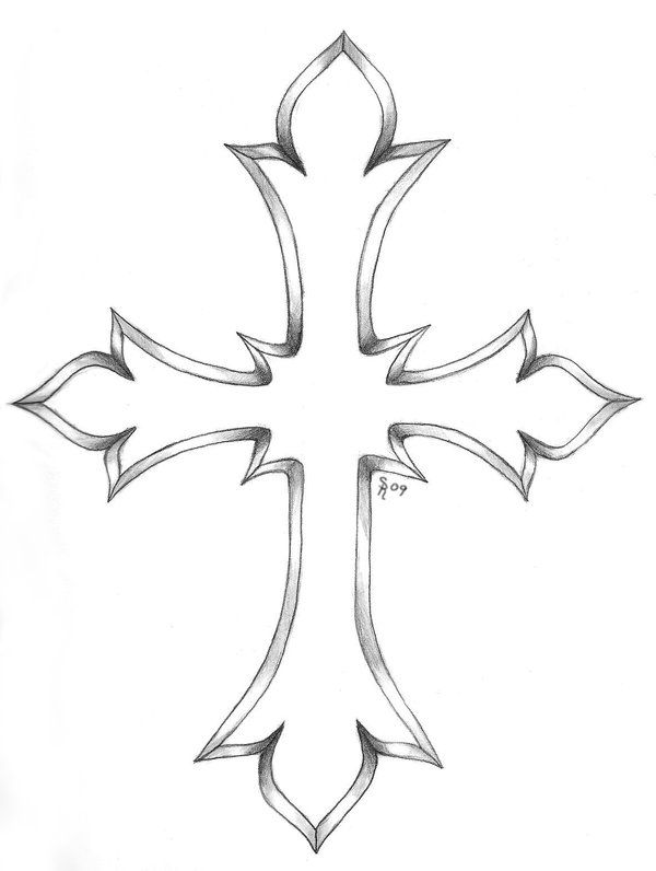 Cross Tattoos : Page 65 | Tatoos!! | Pinterest | Craft Cross Tattoo Outline