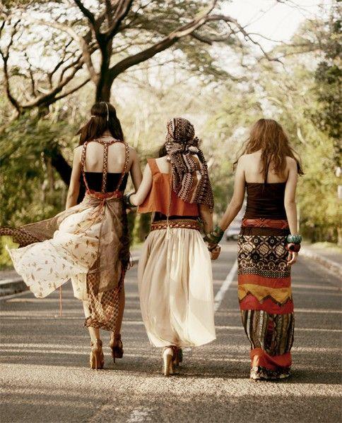 hippie friends