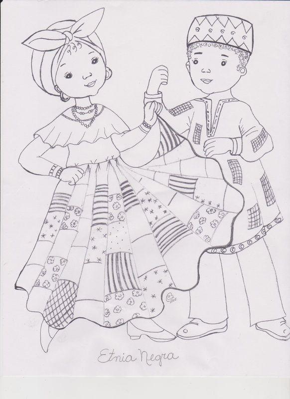 Resultado de imagen para etnia negra dibujos   15 Años de Carol ...