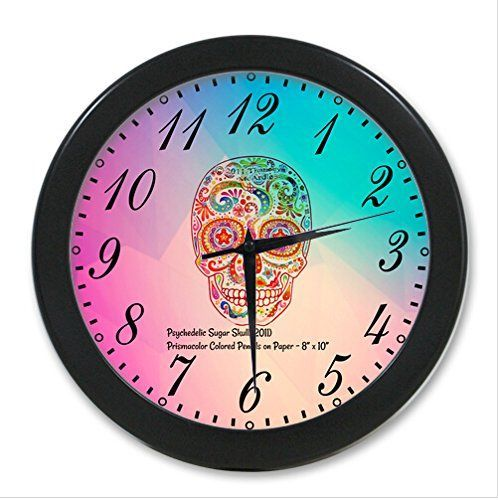 Lause diy Sugar Skull Wall Clock Good GIFT Idea Custom Clock Wall Kitchen -- Be sure to check out this awesome product.