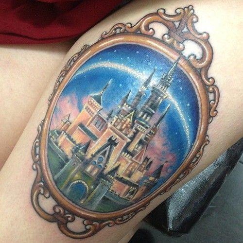 35 Totally Magical Disney Tattoos. Love Disney!
