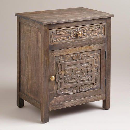 Kiran Carved Cabinet