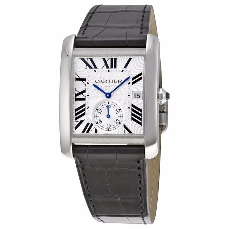 Cartier Men's W5330003 'Tank MC' Automatic Black Watch