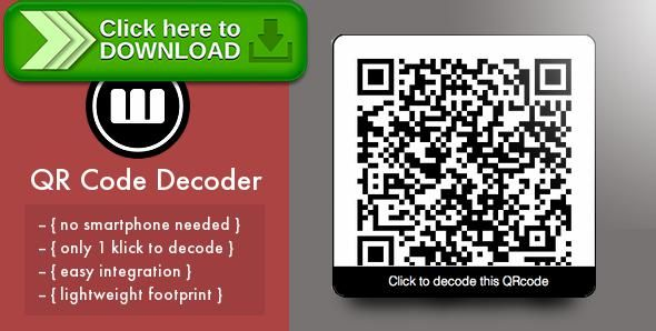 [ThemeForest]Free nulled download QR Code On-Site Decoder from http://zippyfile.download/f.php?id=51973 Tags: ecommerce, on-site decoder, qr code, qr code decoder, qr decoder, qr scanner, scan code