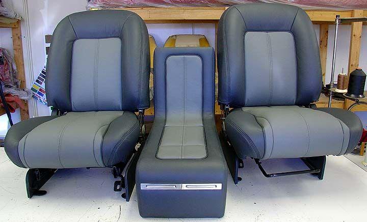 Bucket Seat Upholstery For 81 87 Chevrolet C10 Pickup