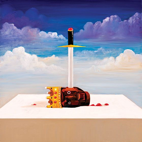 Artist George Condo Explains His Five Covers for Kanye West's Twisted Fantasy -- Vulture